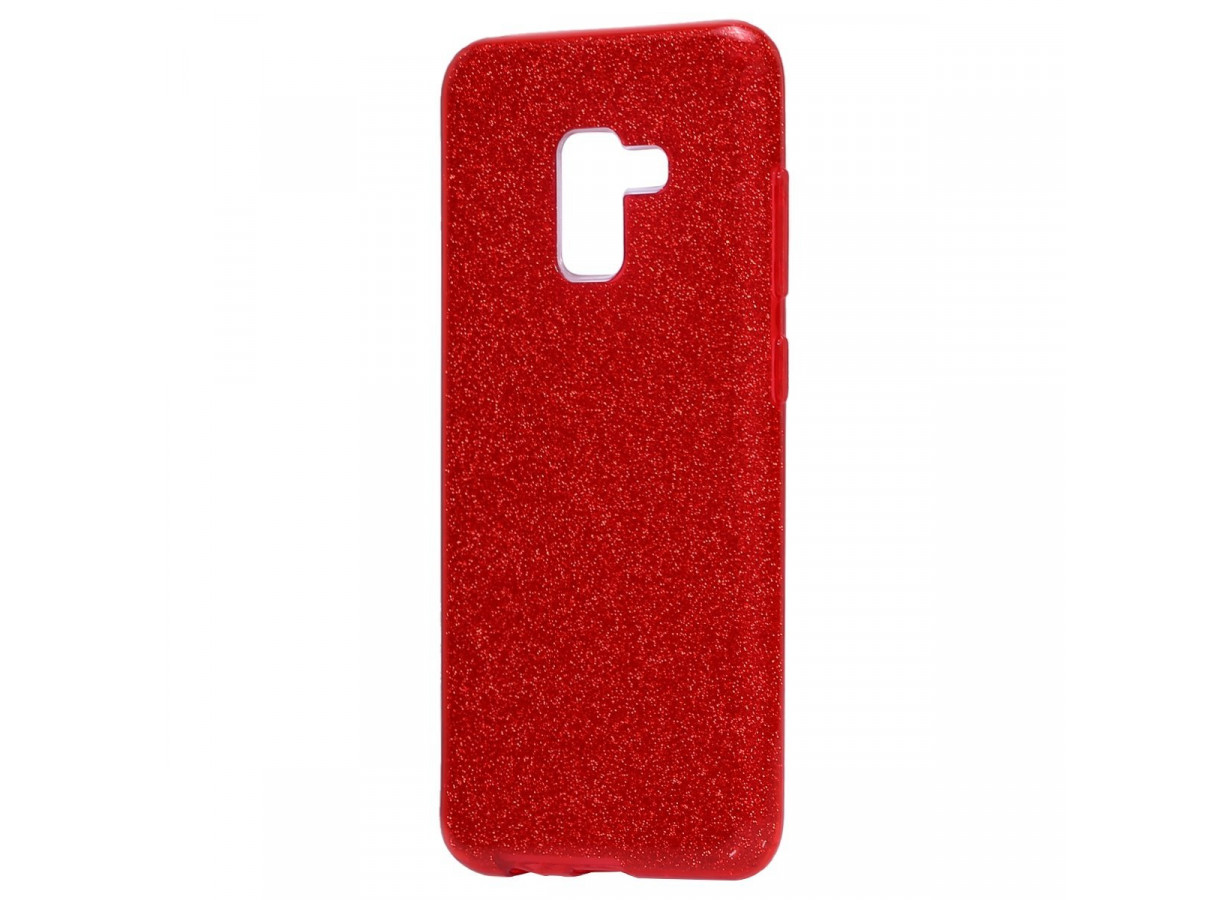Coque Samsung Galaxy J6 2018 Glitter Protect-Rouge   Master Case