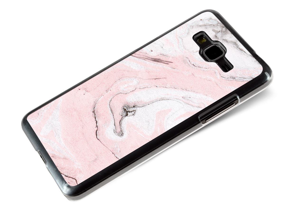 Coque Samsung Galaxy Grand Prime Effet Marbre- Rose   Master Case