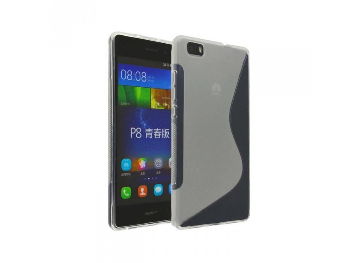 coque huawei p8 lite silicone transparent