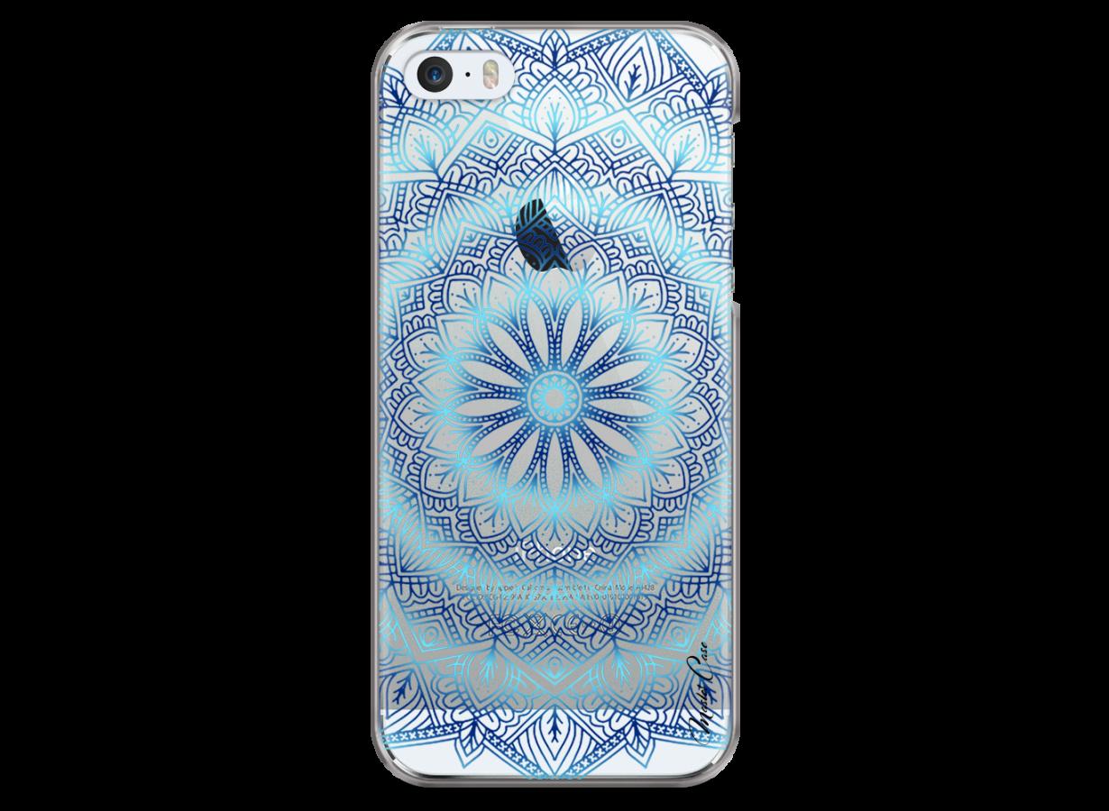Coque iPhone 5/5s/SE Blue Galaxy Mandala | Master Case