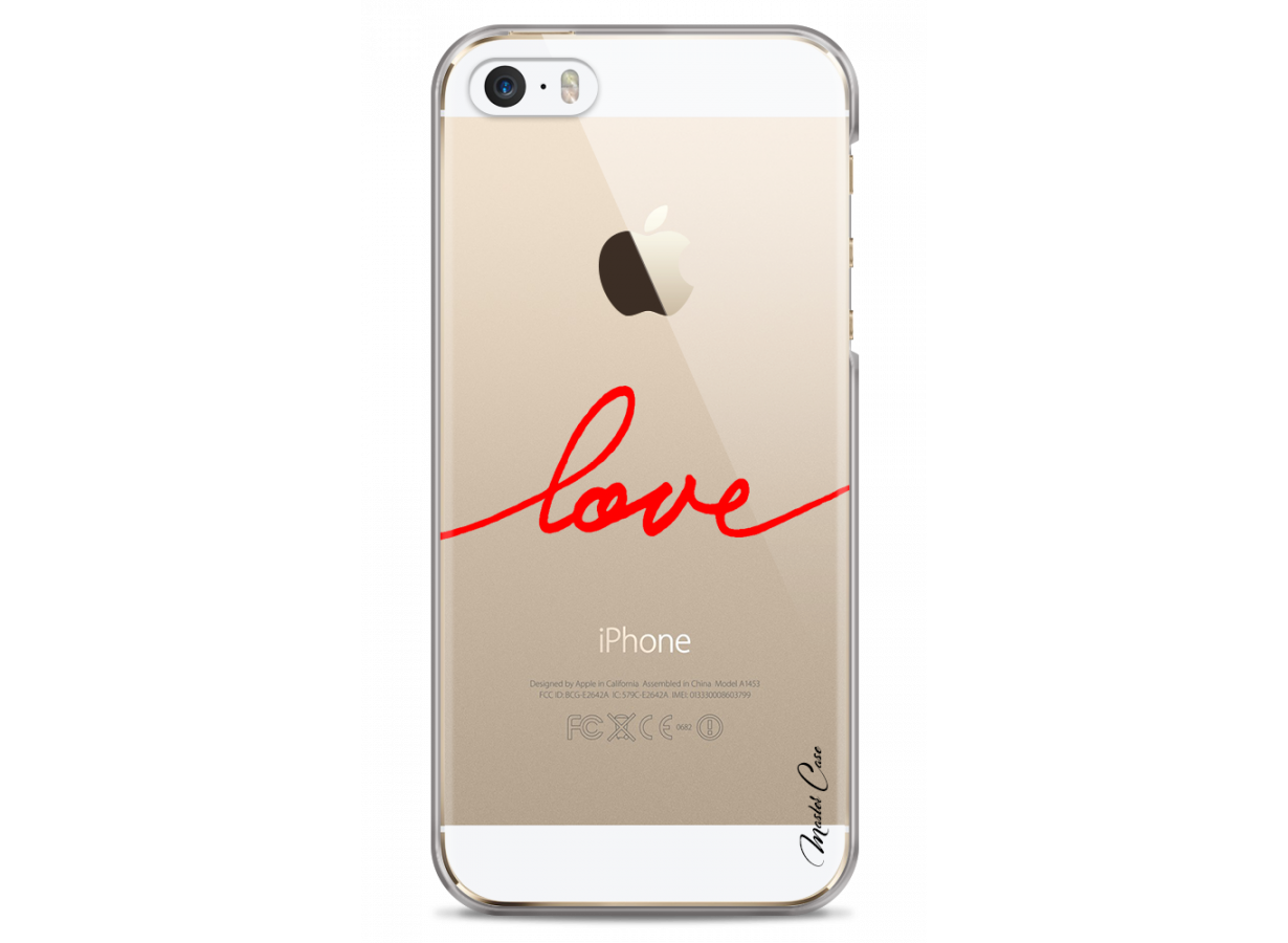 coque iphone 5 red