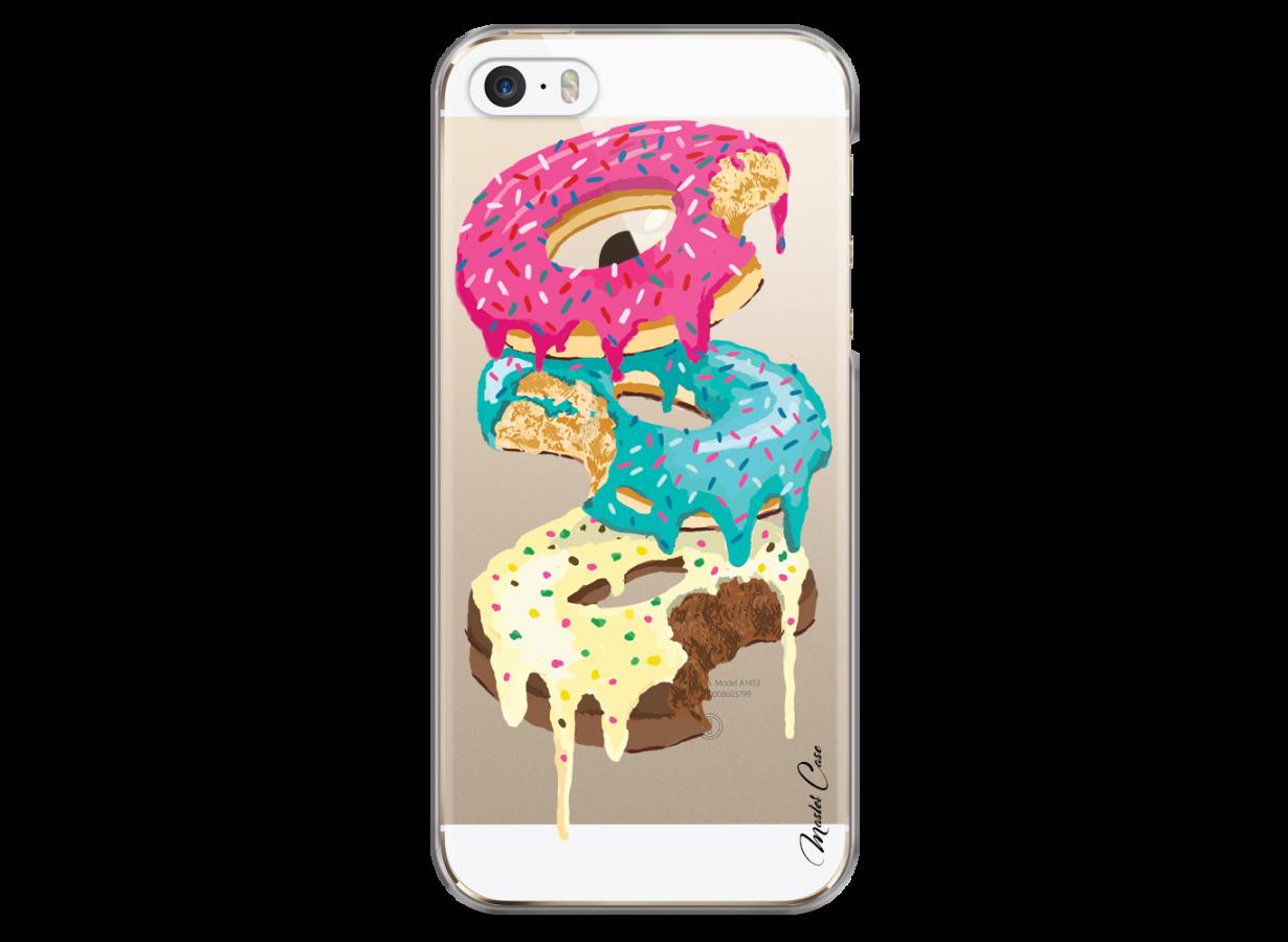Coque iPhone 5C Donut tu m'as eu   Master Case