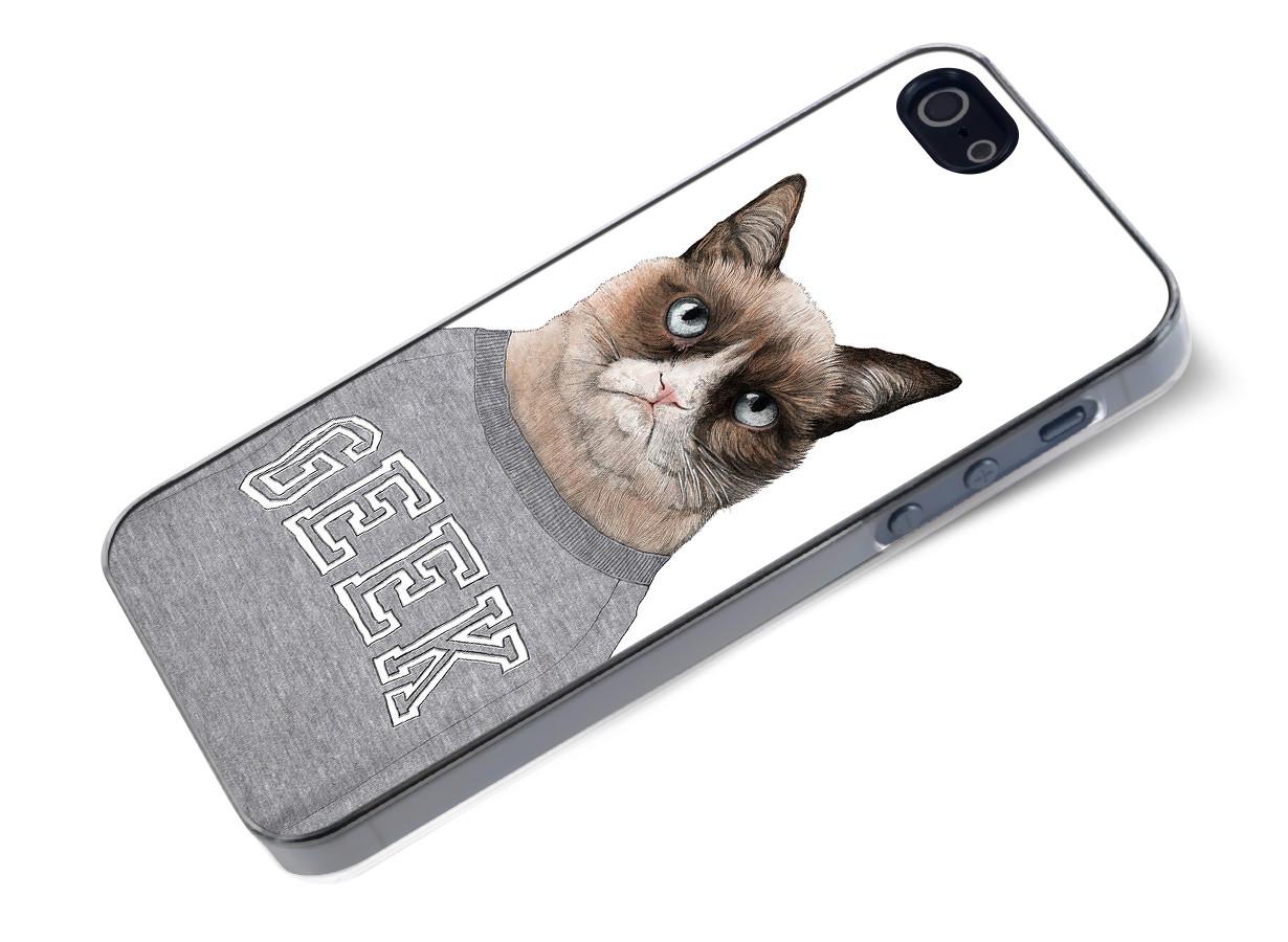 zz coque iphone 5 grumpy cat