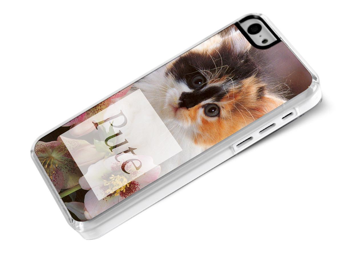 zz coque iphone 5c dis le pute chat