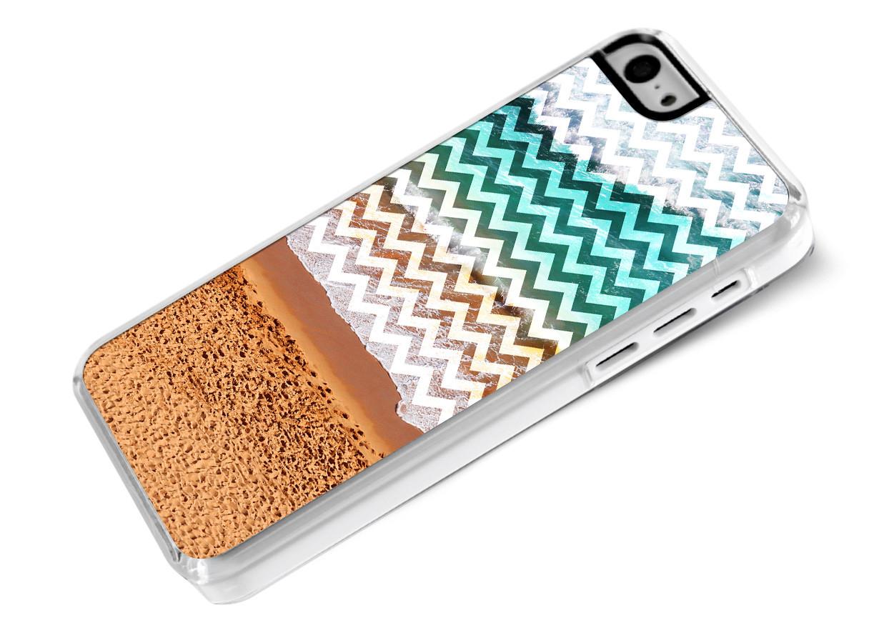 Coque iphone 5c chevrons beach master case for Miroir zig zag