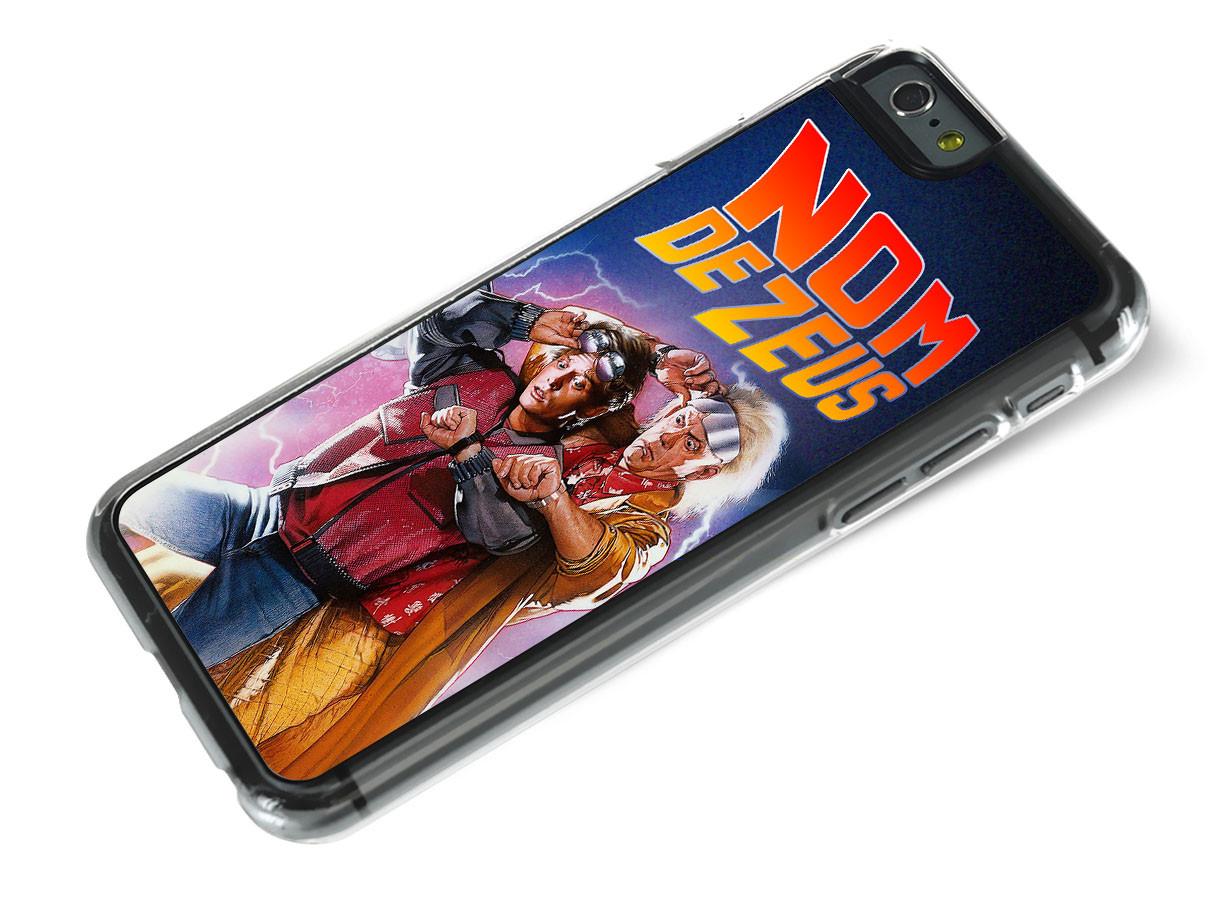 Coque iPhone 6 Plus/6S Plus Retour Vers le Futur-Nom de Zeus ...