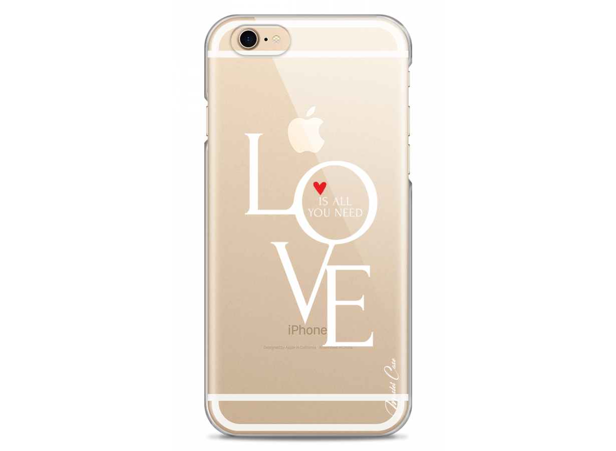 Coque iPhone 6/6S Love is all you need   Master Case
