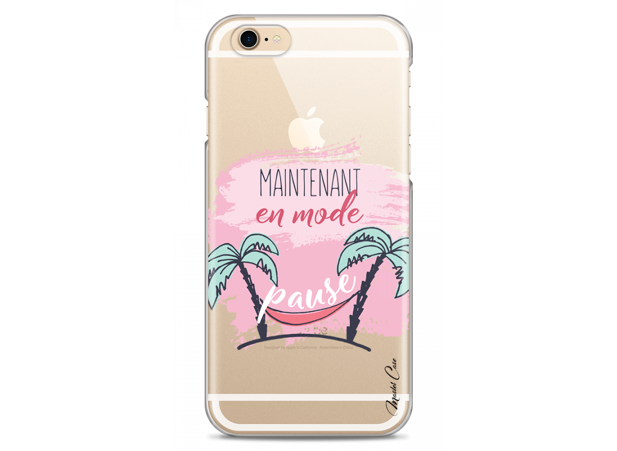 zz coque iphone 6 design master case maintenant en mode pause