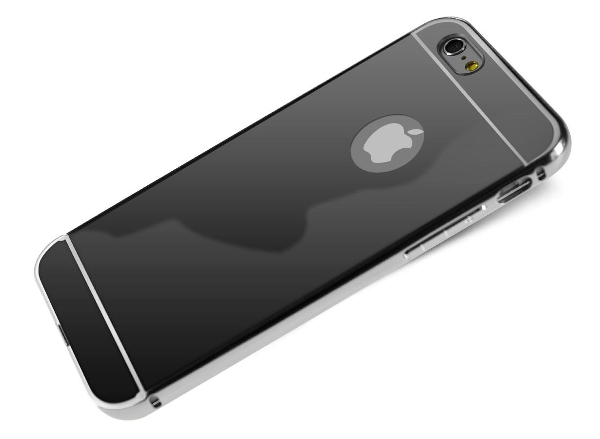 coque iphone 8 miroir noir
