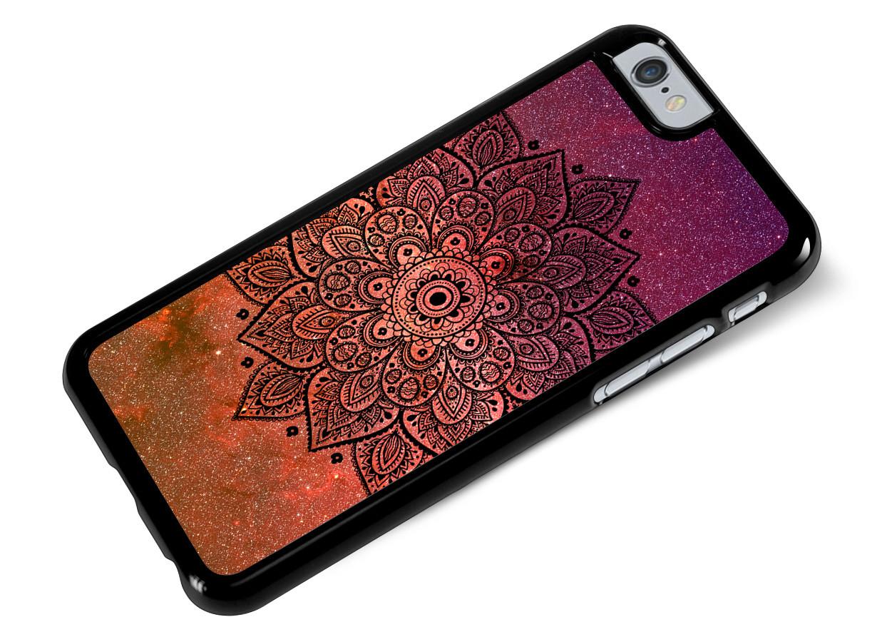 coque iphone 6 mandala rose