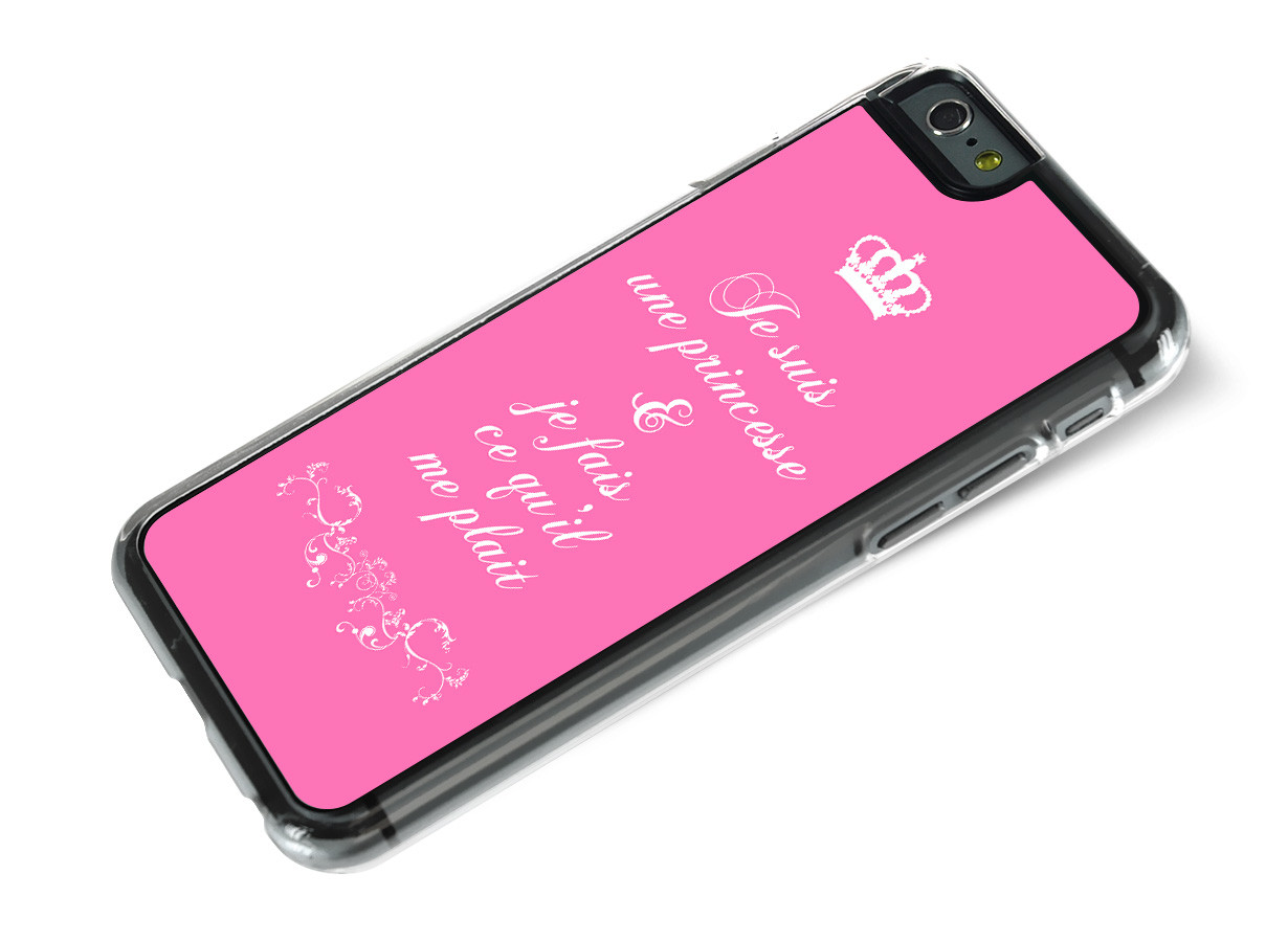 coque princesse iphone 8