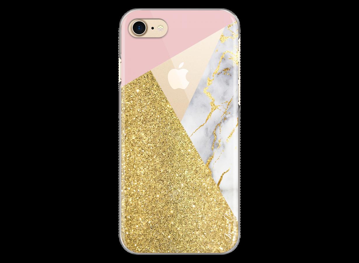coque iphone 8 glitter