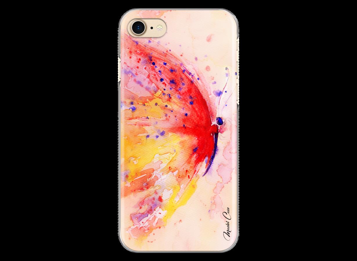 coque iphone 8 watercolor