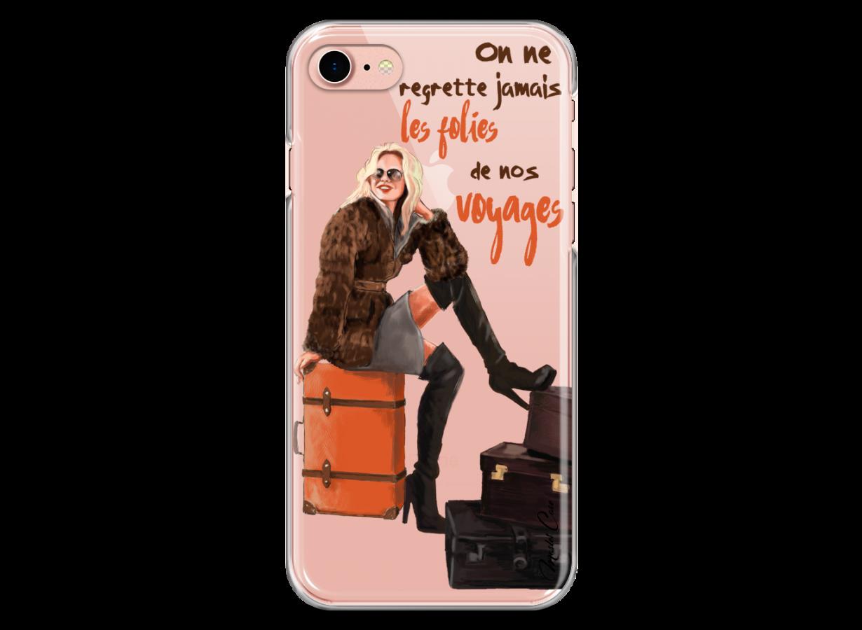 coque voyage iphone 7 plus