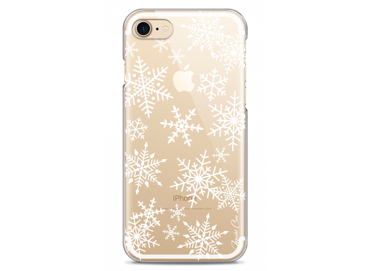 coque iphone 8 snow