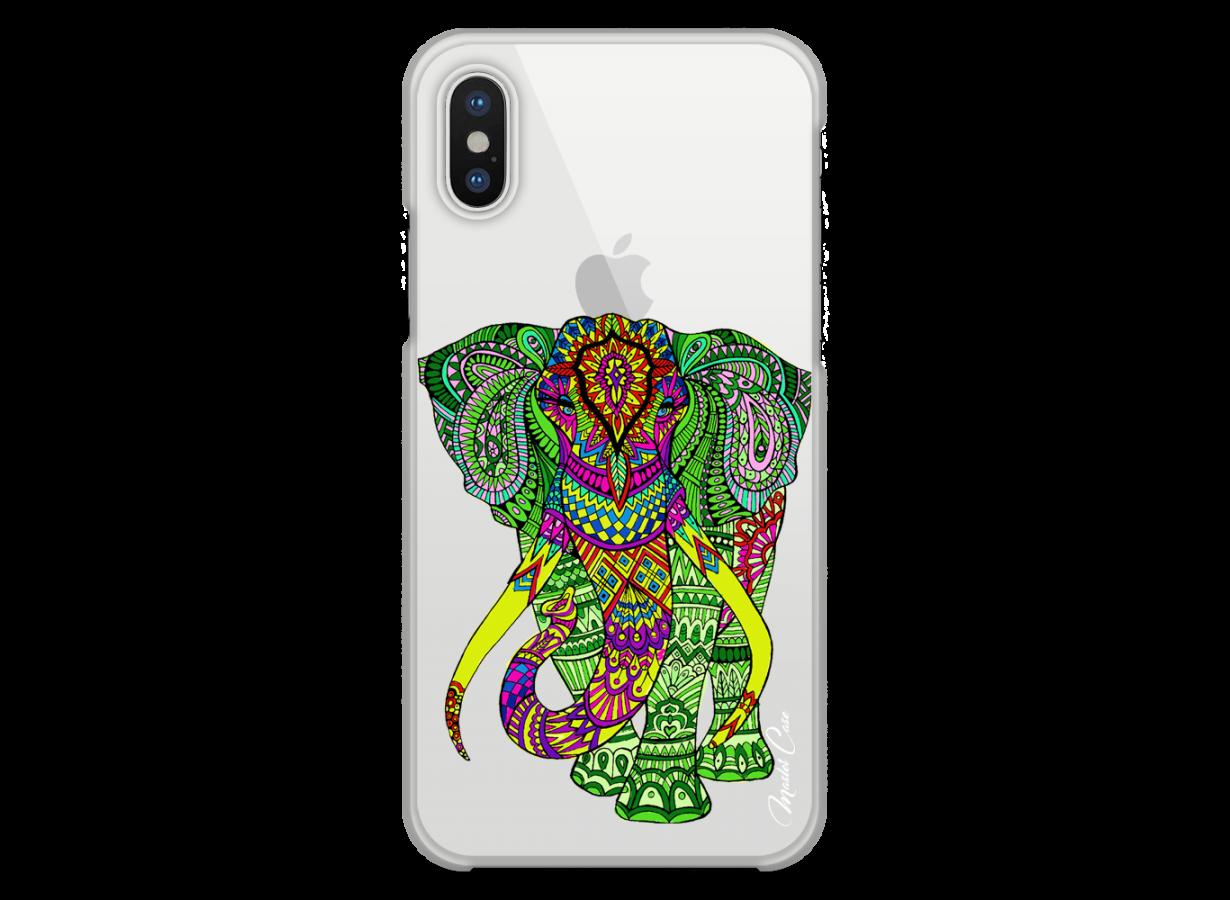 coque iphone x elephant