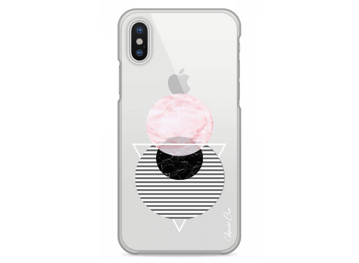 coque iphone xr marbre noir