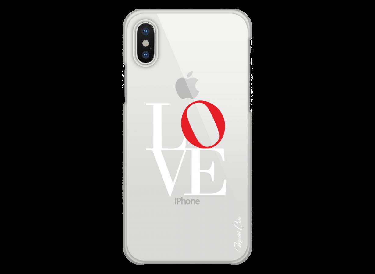 coque iphone x love
