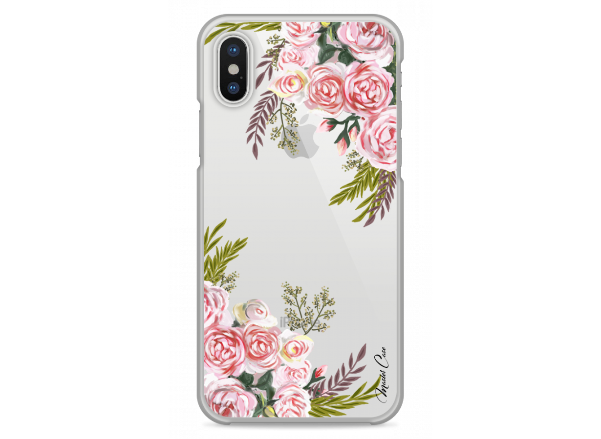 coque iphone xs transparente avec motif