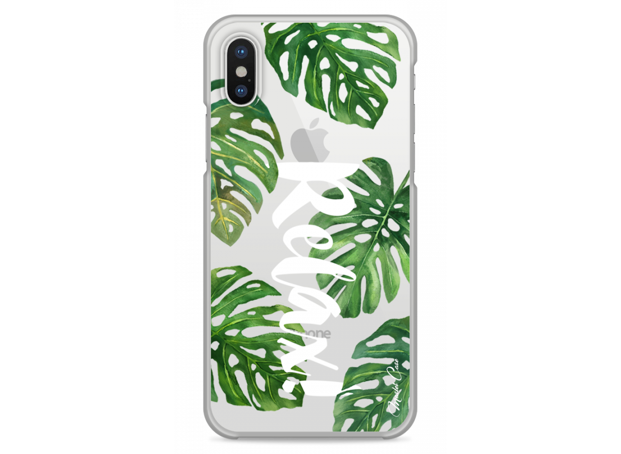coque tropical iphone x