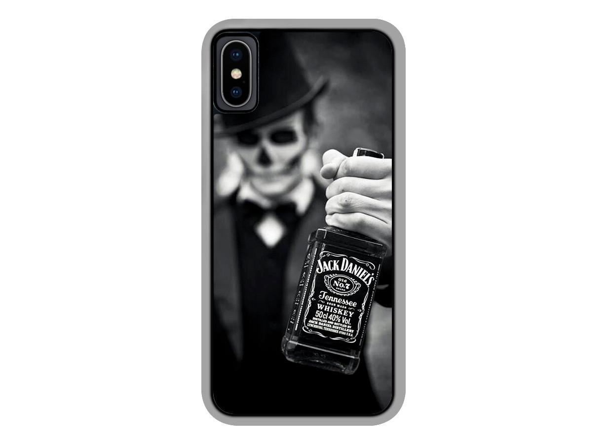 coque iphone xs skull