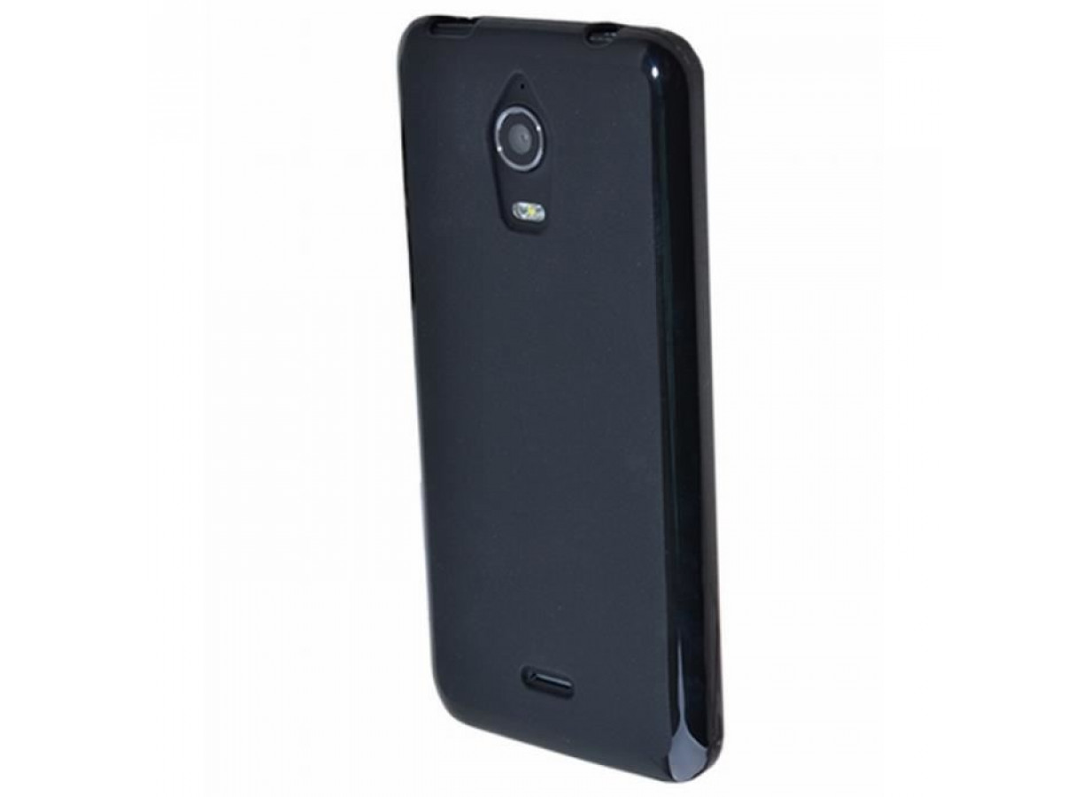 Coque Wiko Wax Silicone Case Noir | Master Case