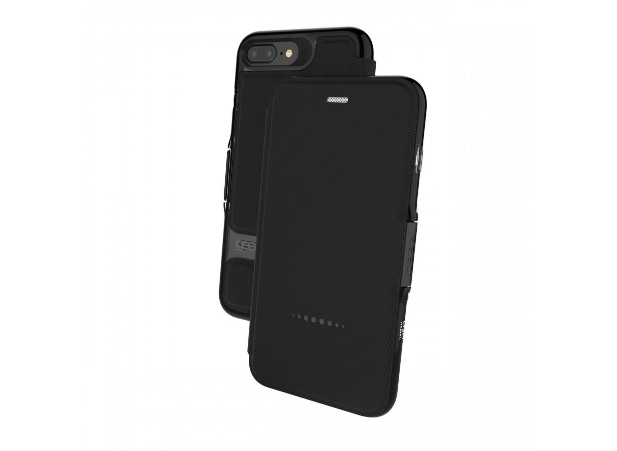 Etui iPhone 7 Plus Gear4 D3O Oxford Noir   Master Case 3f26e2d0a794