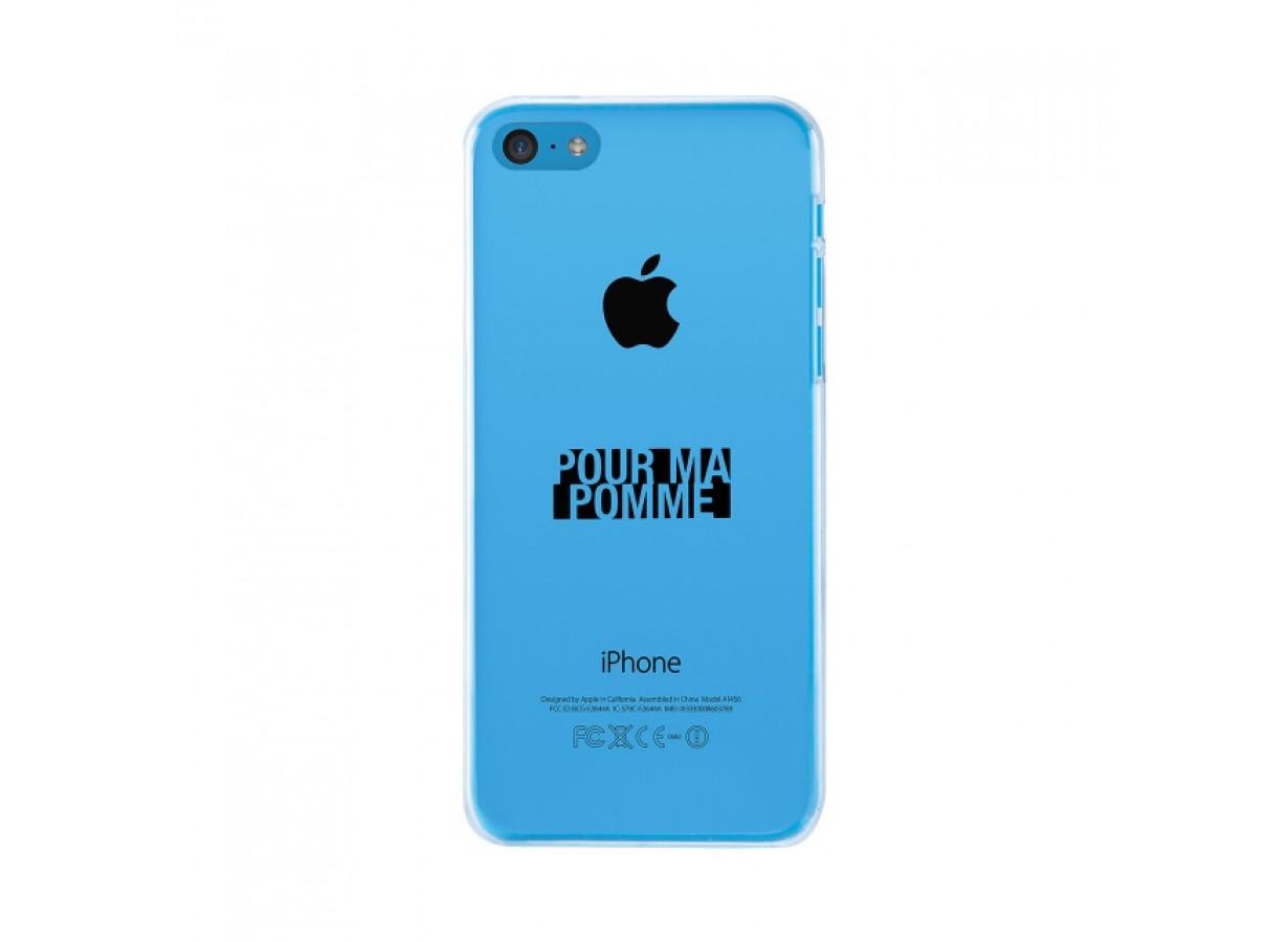 coque iphone xr avec pomme