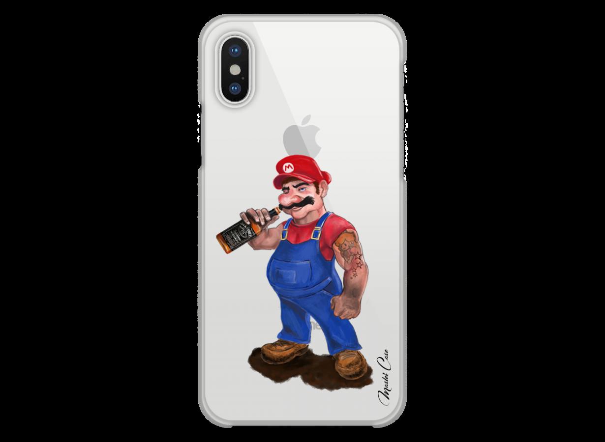 coque iphone xs mario