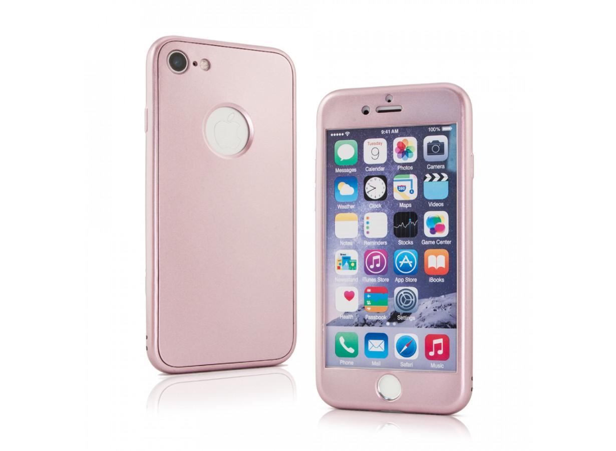 coque iphone 5 rose mat