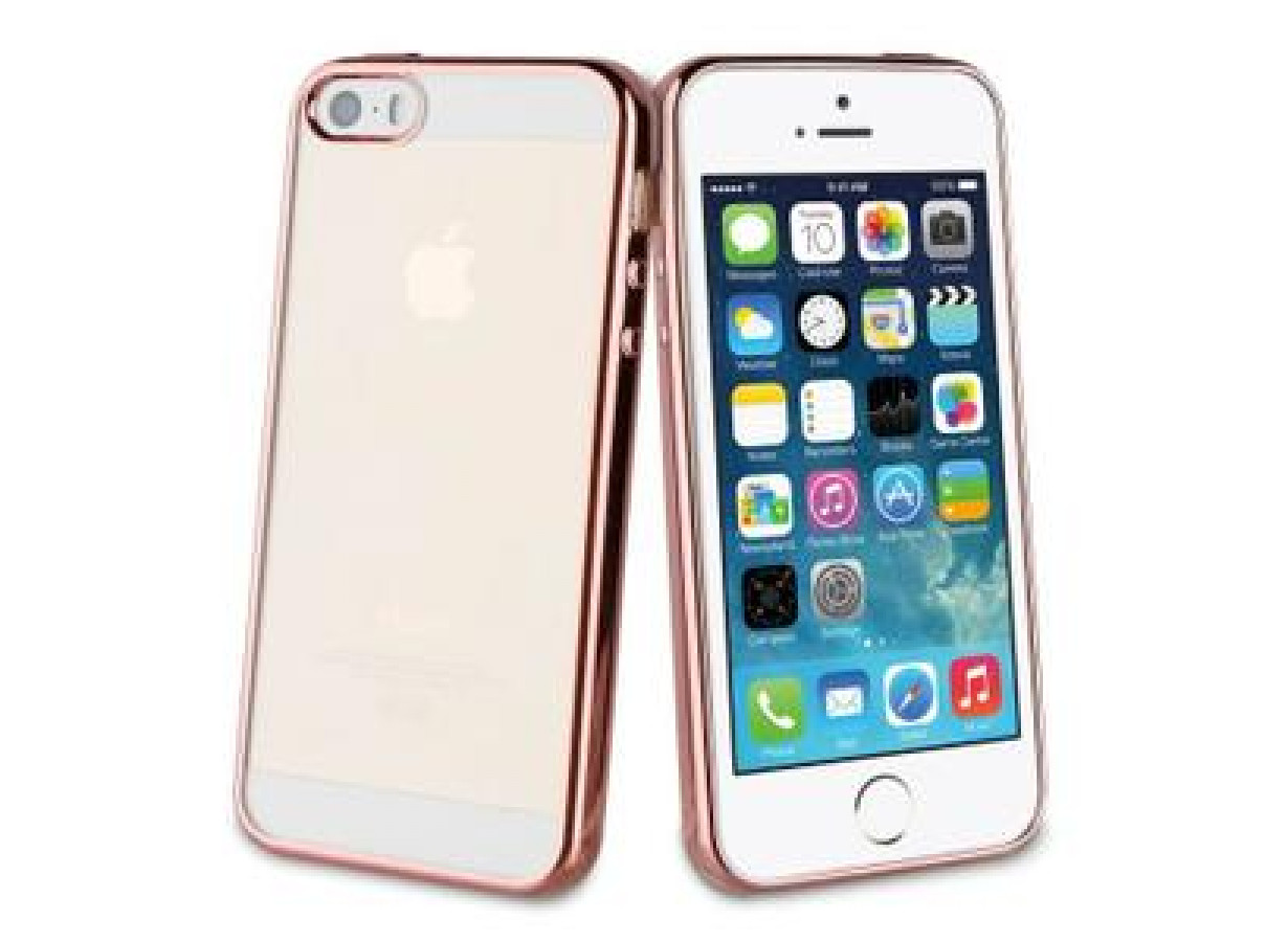 zz muvit life bling rose gold back case apple iphone 1