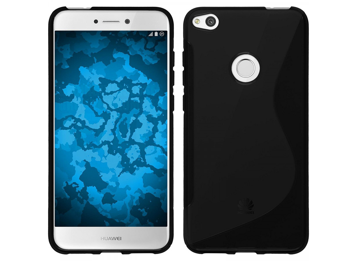 coque huawei p8 lite 2017 silicone grip noir master case. Black Bedroom Furniture Sets. Home Design Ideas