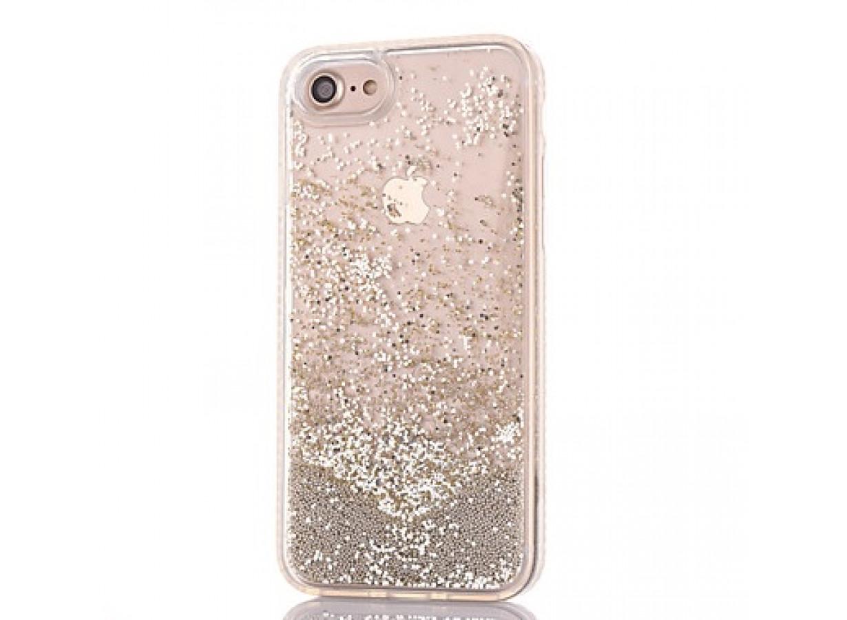 Coque iPhone 7/ iPhone 8 Liquid Pearls-Argent | Master Case