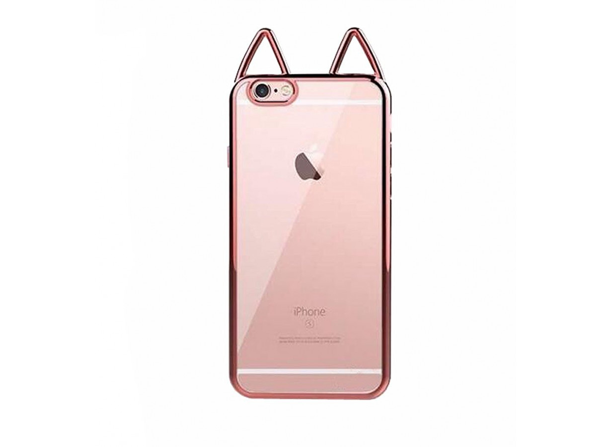 Coque Iphone 6 Plus 6s Plus Rosegold Cat Ears Master Case