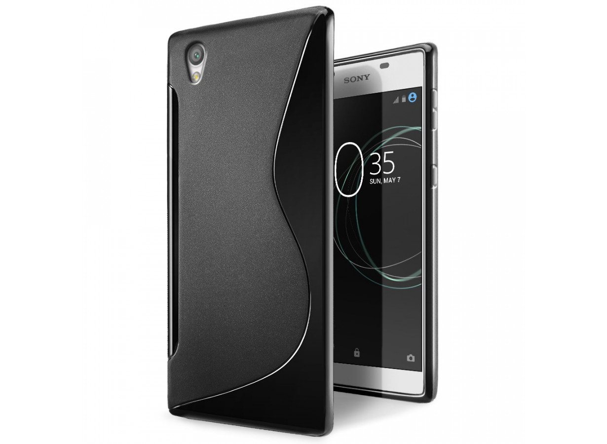 Coque souple Noir Sony Xperia L1 wPoepi