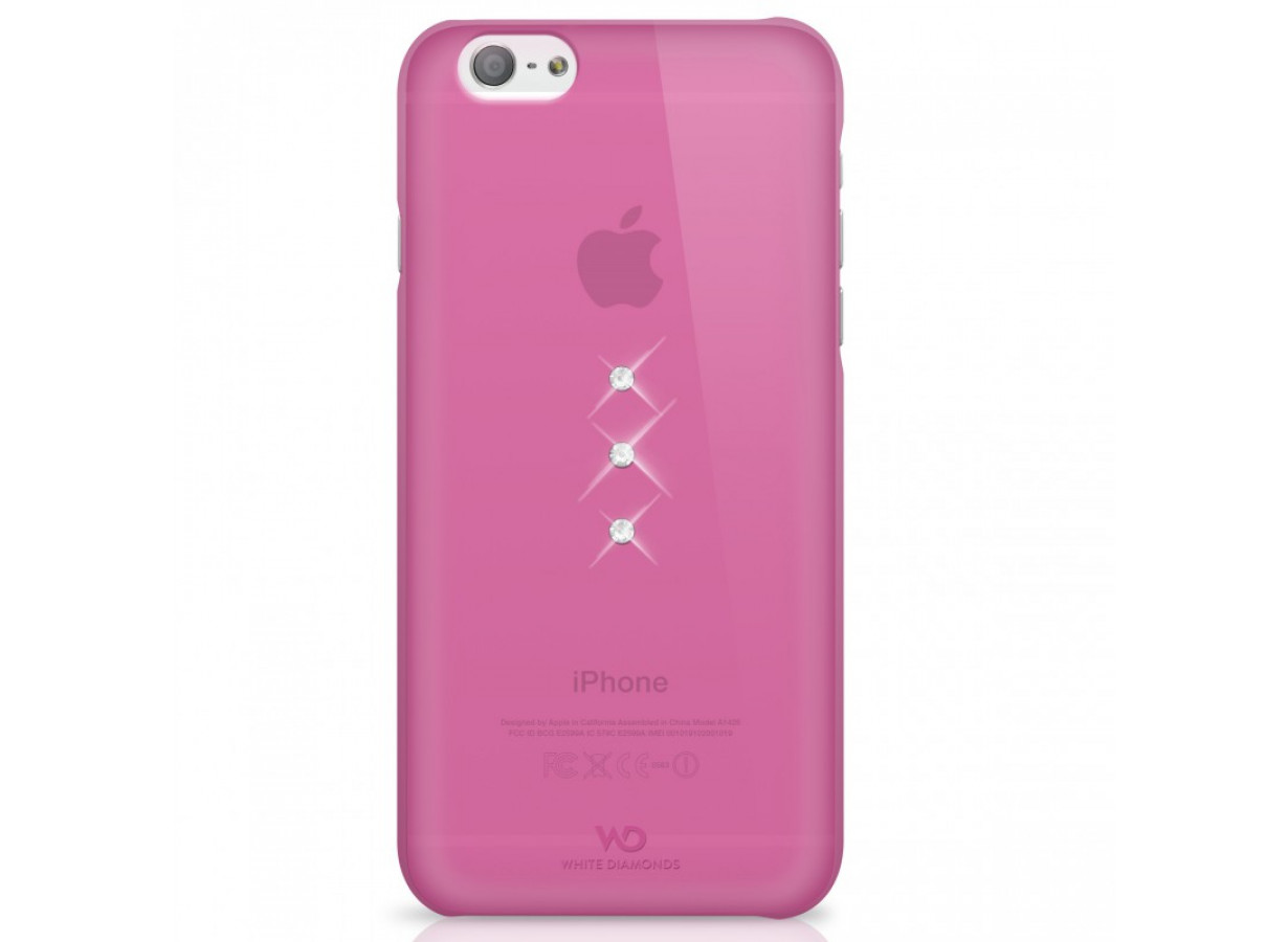 zz white diamonds protection arriere rose trinity iphone 6
