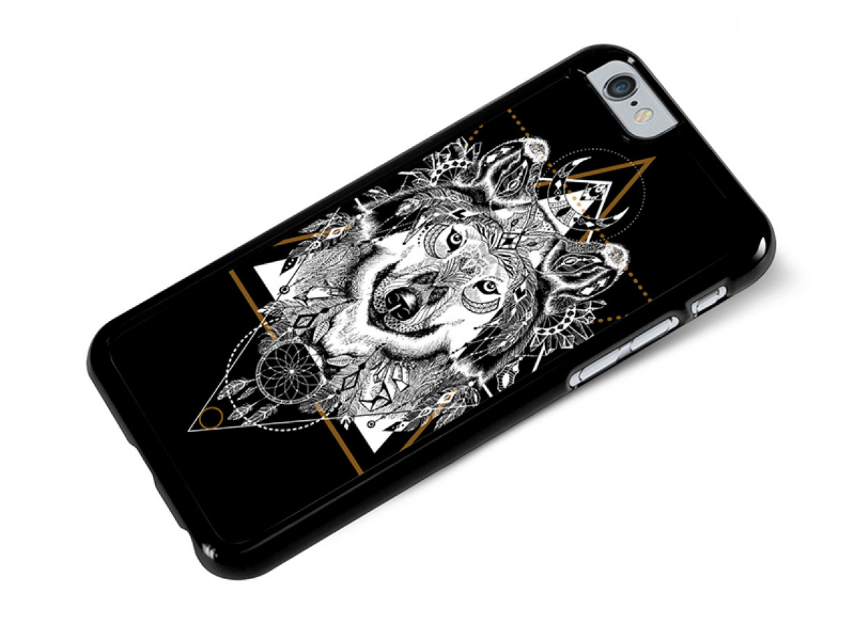 coque iphone 6 loup
