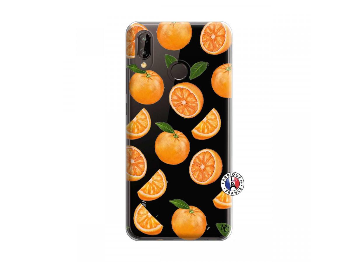 coque orange huawei p20 lite