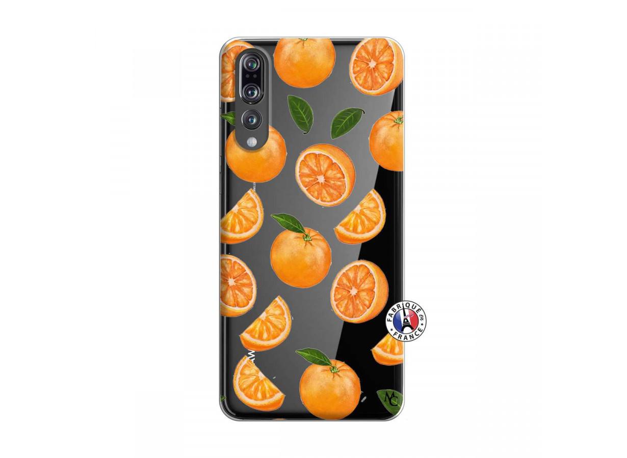 coque huawei p20 pro orange