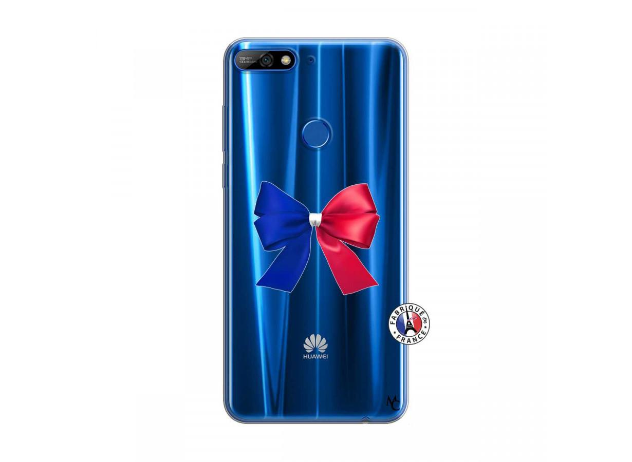 coque huawei y7 bleu