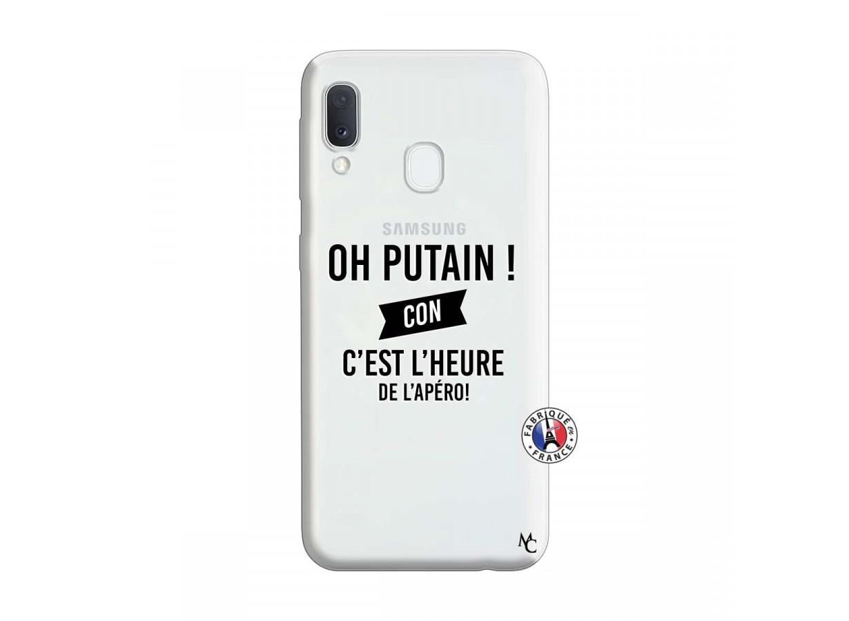 Coque Samsung Galaxy A20e Oh Putain C Est L Heure De L Apero ...