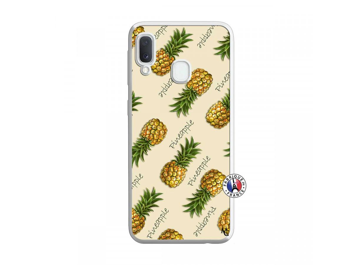 coque ananas pour samsung a20e