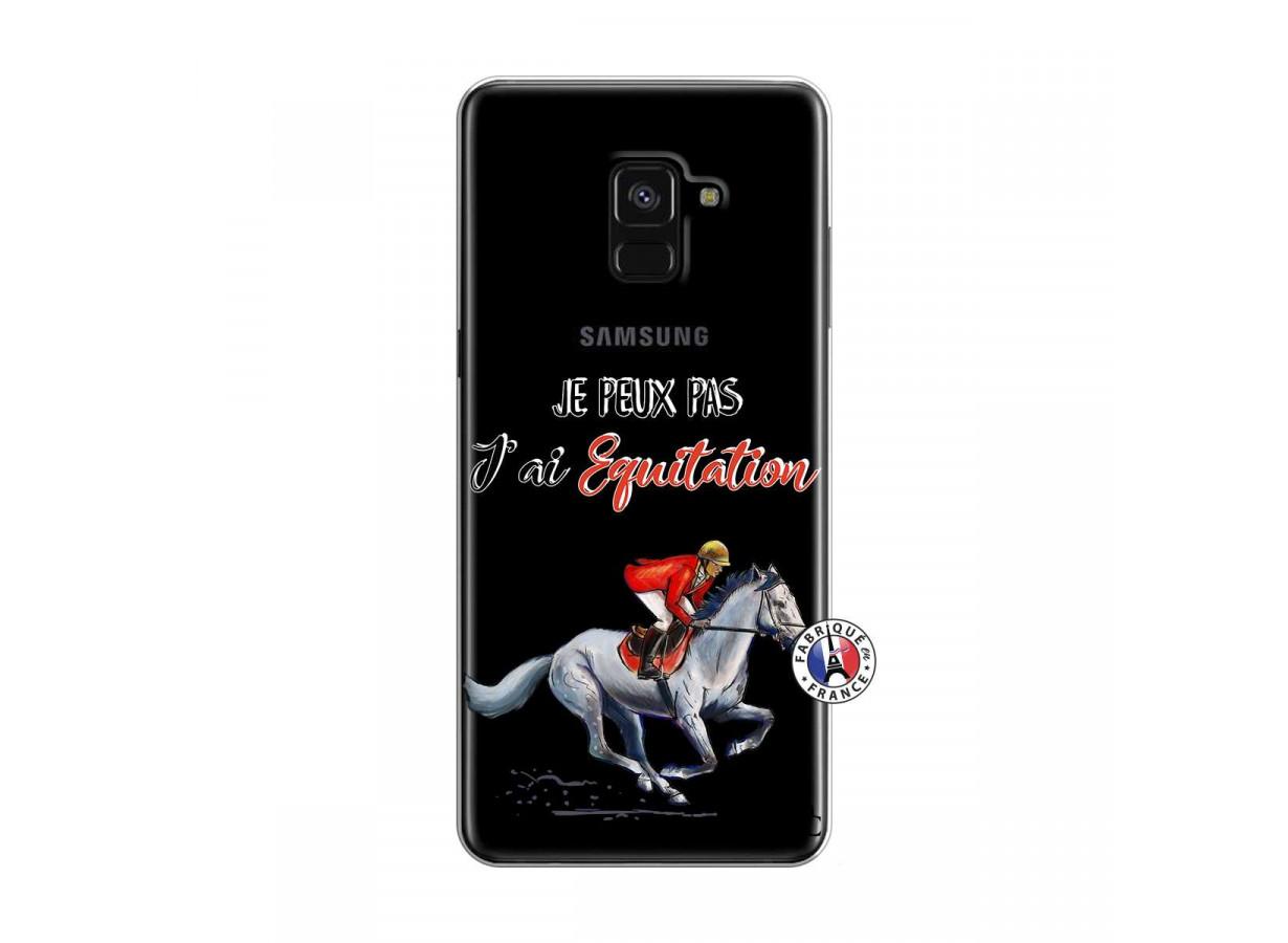 coque samsung a40 equitation