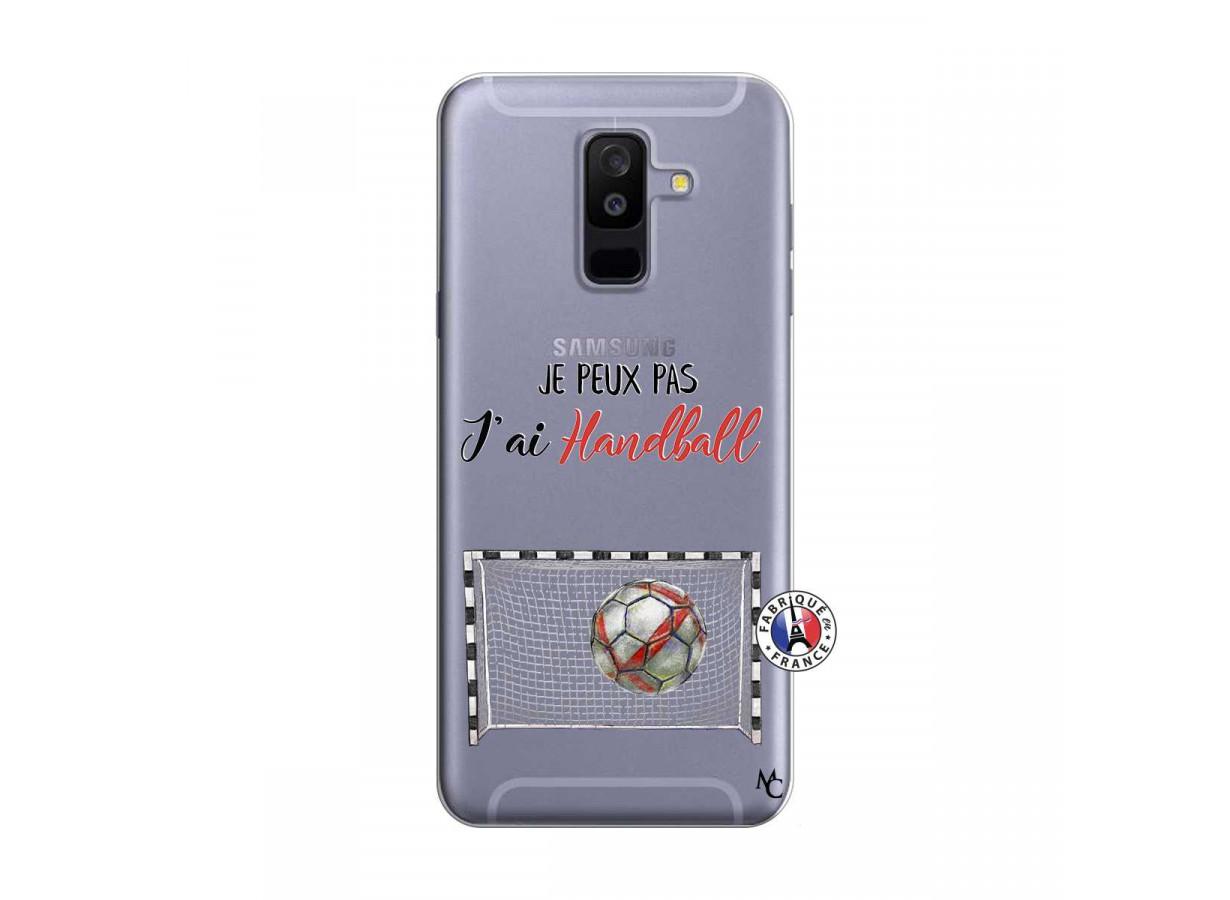 Coque Samsung Galaxy A6 Plus Je peux pas j'ai Handball | Master Case