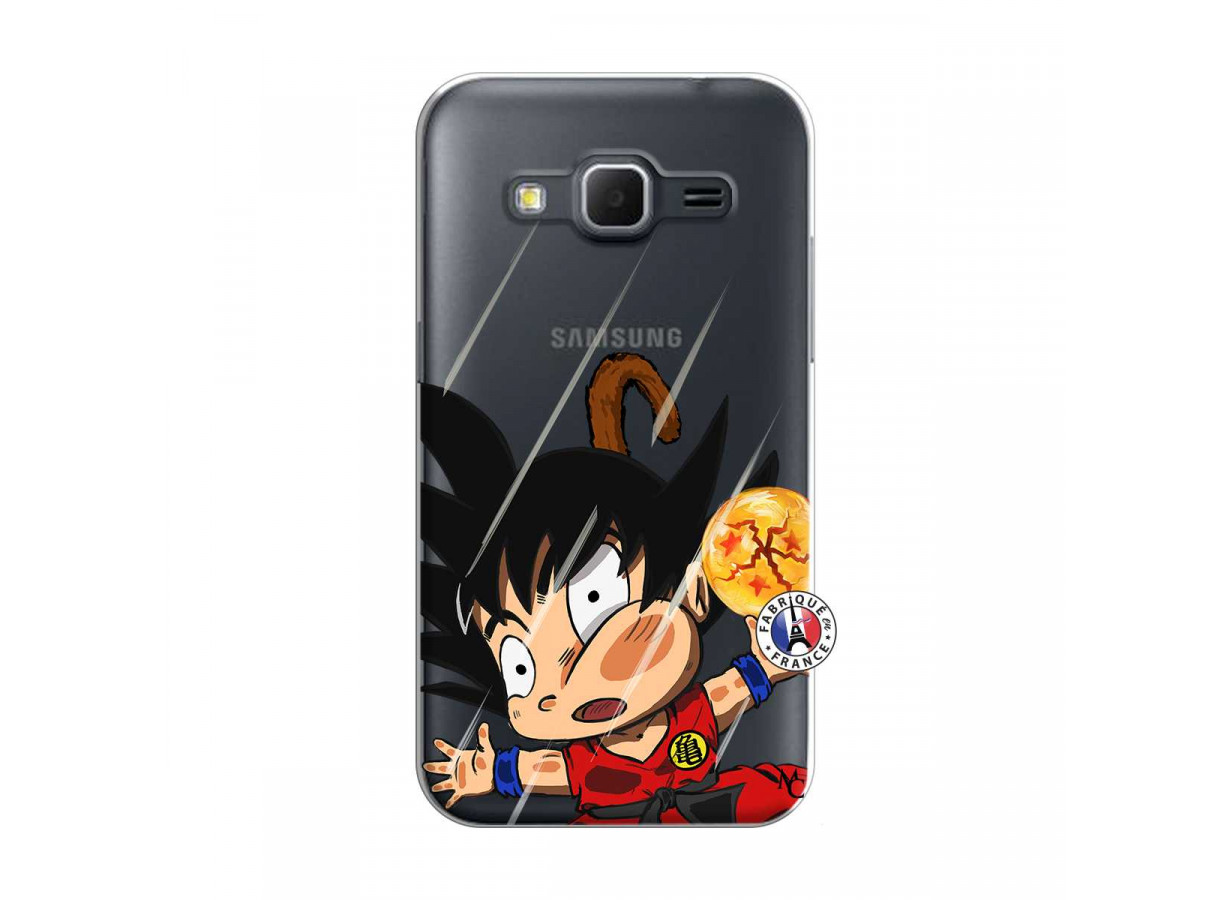 Coque Samsung Galaxy Core Prime Goku Impact | Master Case