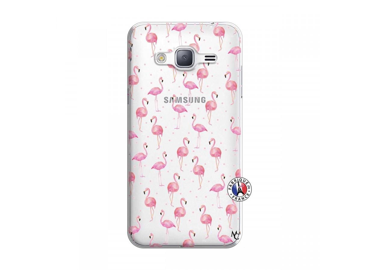 Coque Samsung Galaxy J3 2016 Flamingo   Master Case