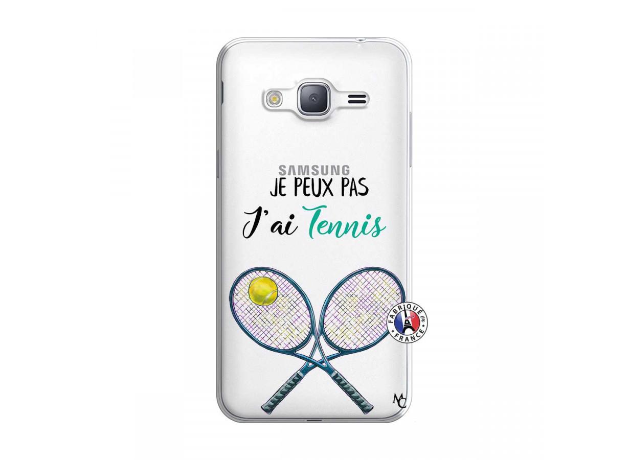 Coque Samsung Galaxy J3 2016 Je Peux Pas J Ai Tennis | Master Case