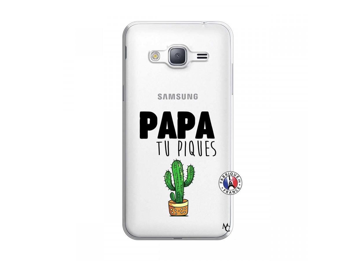 Coque Samsung Galaxy J3 2016 Papa Tu Piques | Master Case