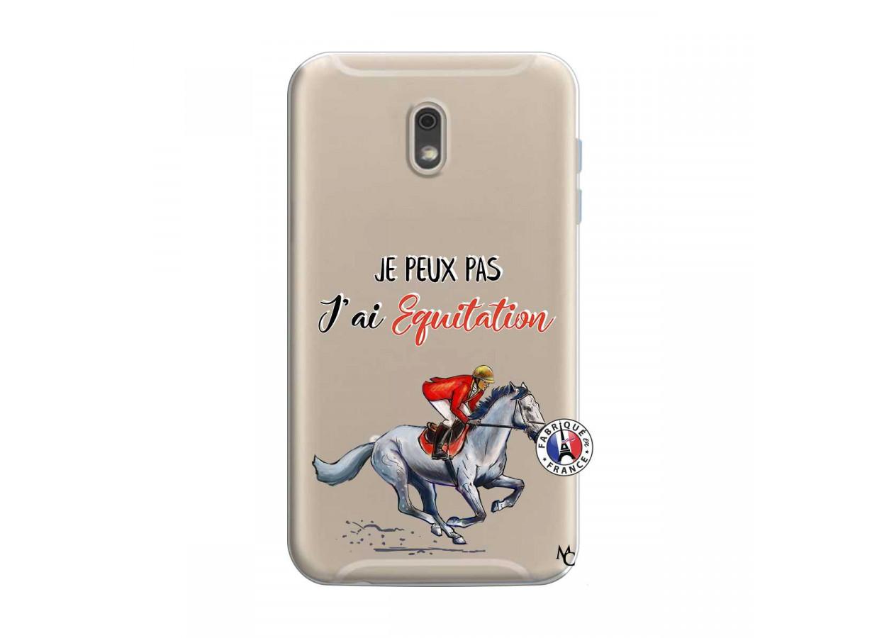 Coque Samsung Galaxy J6 2018 Je Peux Pas J Ai Equitation   Master Case