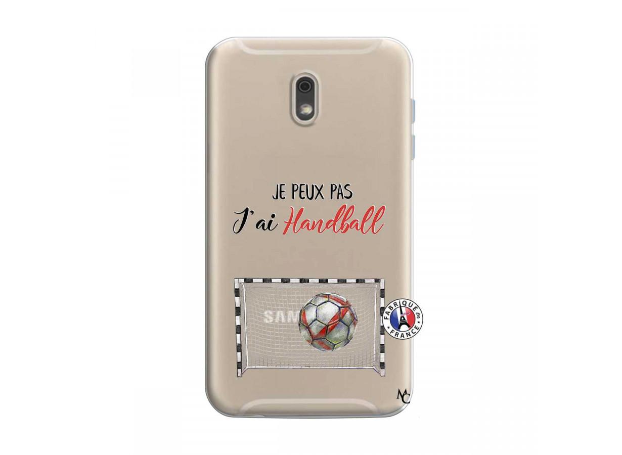 Coque Samsung Galaxy J6 2018 Je peux pas j'ai Handball | Master Case